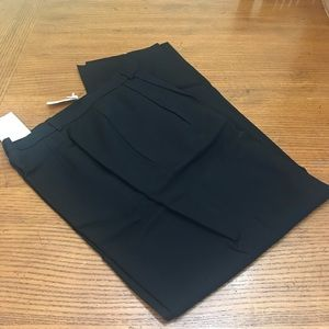 NWT 100% Worsted Wool Pleated Front Pants
